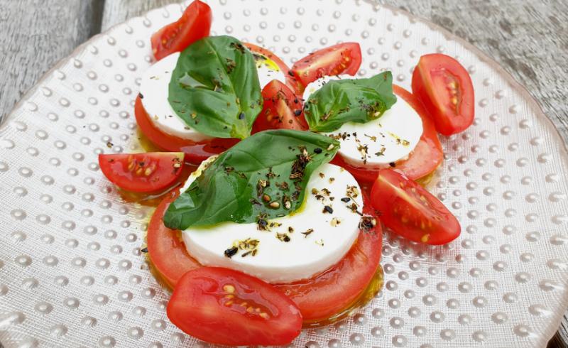 Buuf's salade Caprese